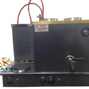 İkili Elektrikli Statik Boyalı Çay Kazanı